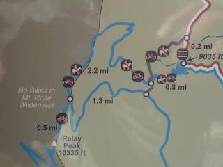 TRT Relay Ridge and Relay Peak