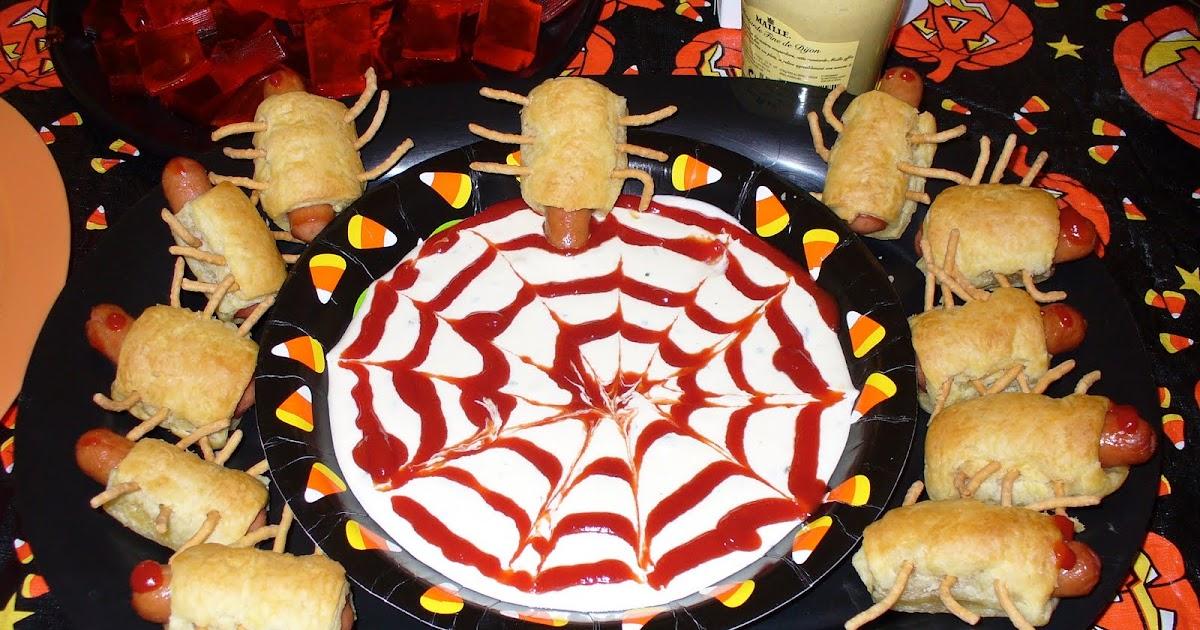 Recipe Shoebox Bugs In A Blanket Halloween