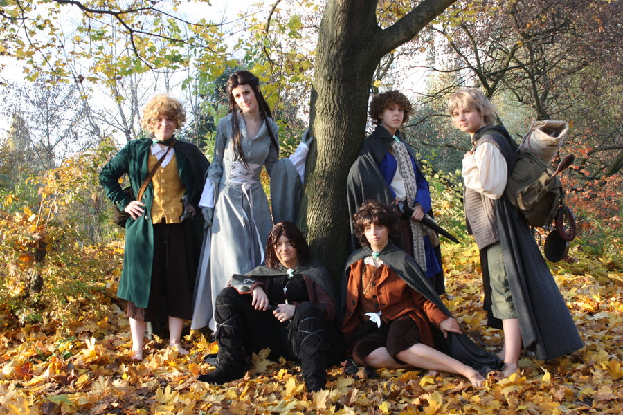 Hobbit group cosplay