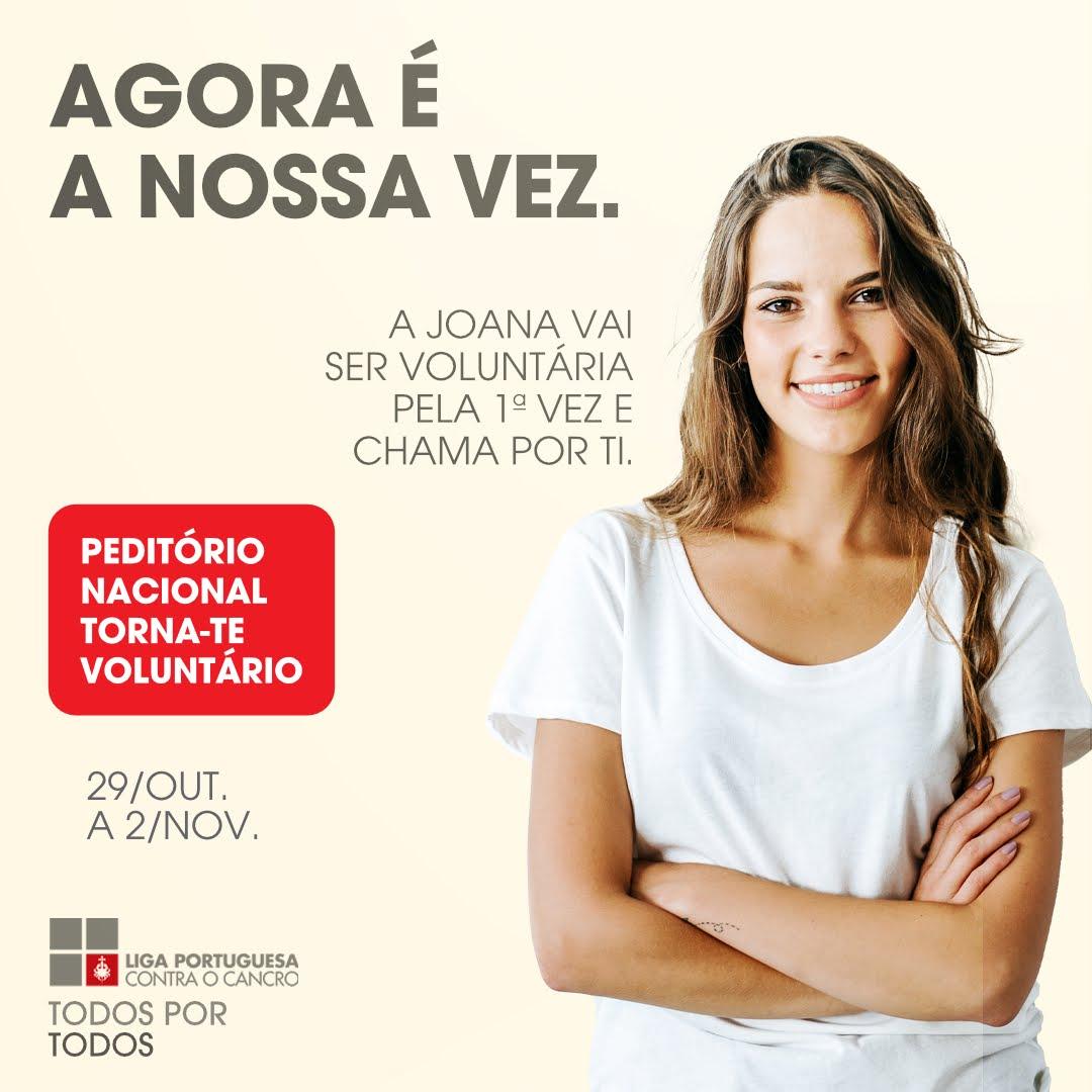 Voluntários para Peditório Nacional da Liga Portuguesa Contra o Cancro