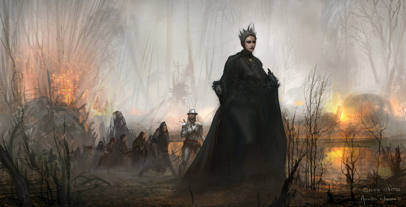 Fashion and Action: Snow White & The Huntsman - Concept Art