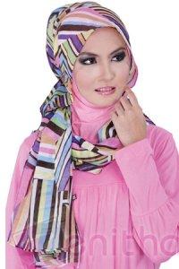 Zenitha Jilbab 05 - Pink (Toko Jilbab dan Busana Muslimah Terbaru)