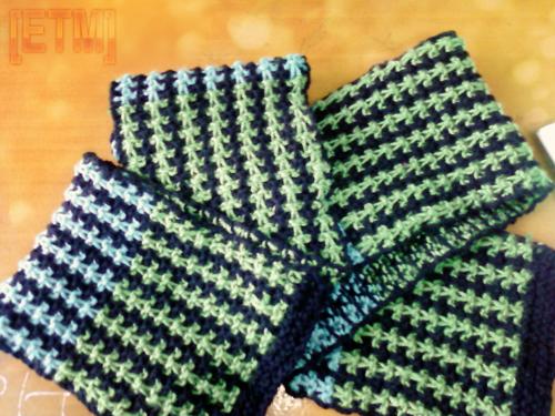 Knitting Stitches Yb : Cute Knitting: Easy Scarf Knitting Pattern