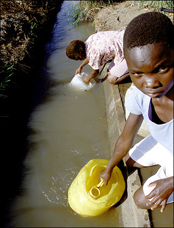 Il problema dell acqua in africa