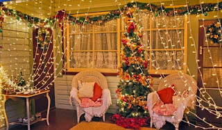 Christmas Light Decoration Ideas Style for Living Room