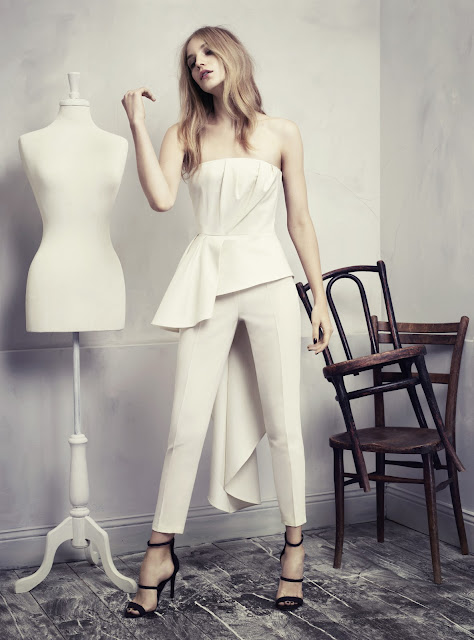 Fashion Junkies loves H&M Conscious Exclusive peplum top