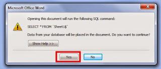 data mail merge