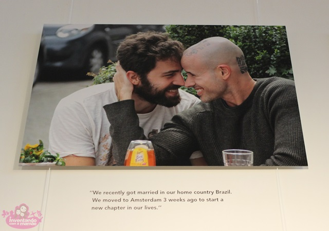 Exposição Humans of Amsterdam na Biblioteke