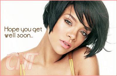Rihanna under medical supervision