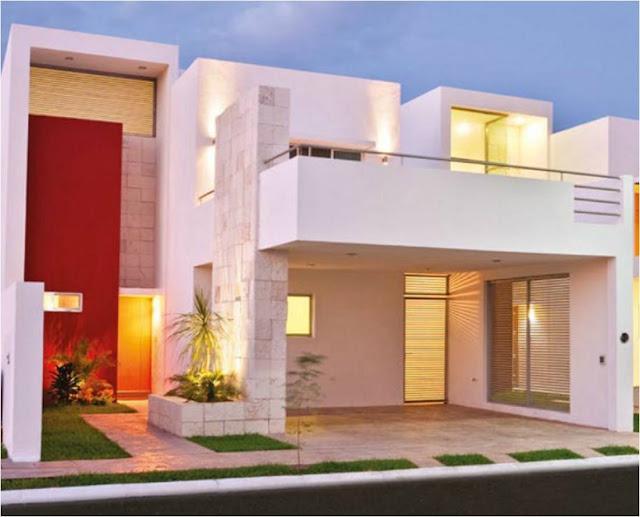 Inmodesarrollo fachadas minimalistas for Fachadas de casas modernas minimalistas