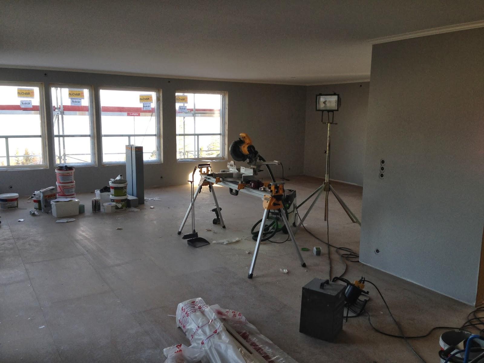 Vi bygger i Øvre sveberglia: februar 2014