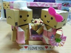 Gambar boneka danbo romantis i love you thecheapjerseys Choice Image