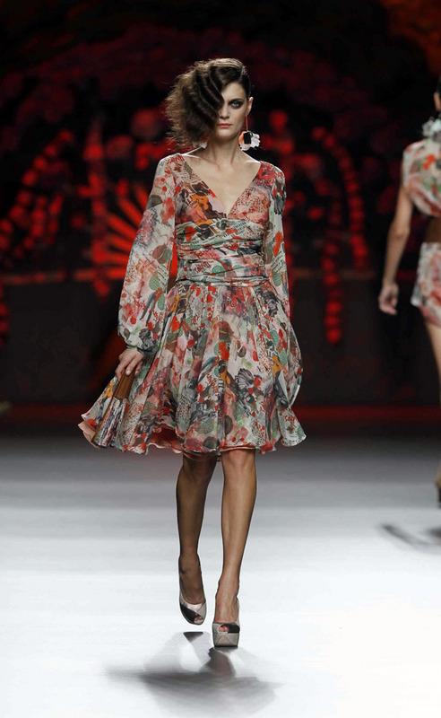 Francis Montesinos, Primavera Verano 2014, Spring Summer, Lever du Soleil by Elzzia, Blog de Moda, Ourense