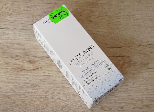 Krem pod oczy Dermedic Hydrain 3 Hialuro - słabiak...