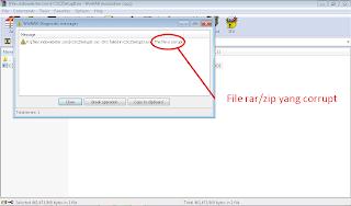 Cara Mengatasi Masalah File Rar/Zip yang Corrupt