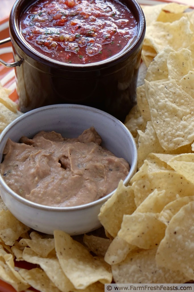 Fast & Easy Bean & Hatch Chile Dip   Farm Fresh Feasts