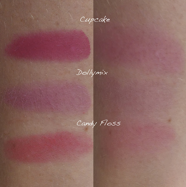 sleek sweet cheeks blush, sleek makeup, sleek, sleek blush, sleek blush trio, blush by 3 Candy Collection, sweet cheeks, cream blush, blush palette, sweet cheeks swatches, sleek blush swatches