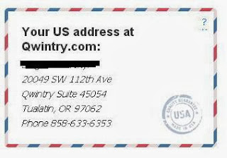 Your american address on qwintry.com