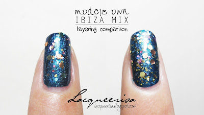 Lacqueerisa: Models Own Ibiza Mix On It's Own and Over Disco Heaven