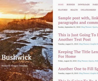 Bushwick Blogger Template