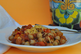 Butternut Squash and Garbanzo Bean Stew