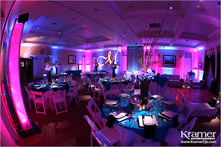 Platinum Touch Events Color Crush Navy Hot Pink