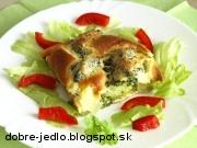 Brokolica v syrovom cestíčku - recept