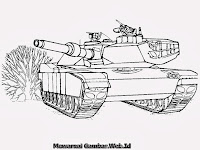 Gambar Mobil Tank Di Medan Tempur