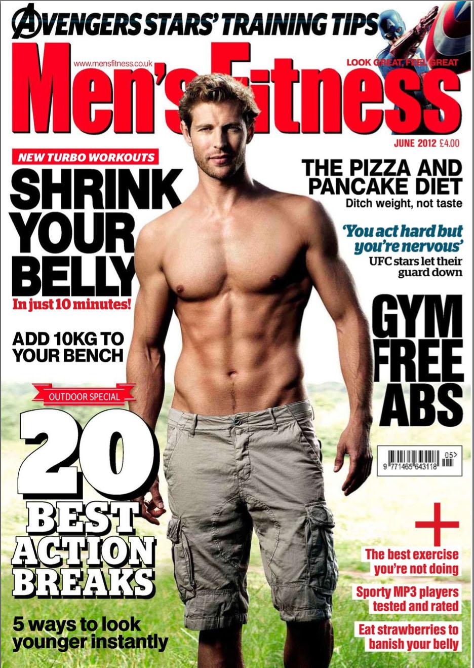 Men S Fitness Uk Magazine Undiscovered World Outdoor