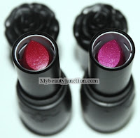 Medusa Makeup lipstick baroque, skid row, swatches, reviews, photos