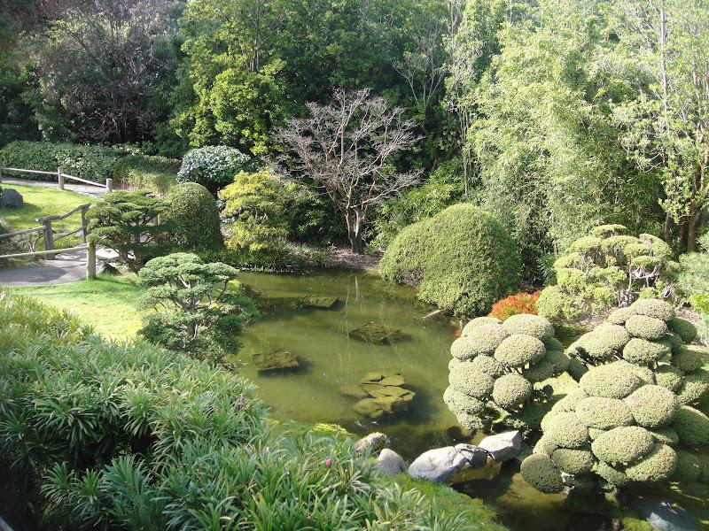Japanese Tea Garden Bridges Culture In Golden Gate Park