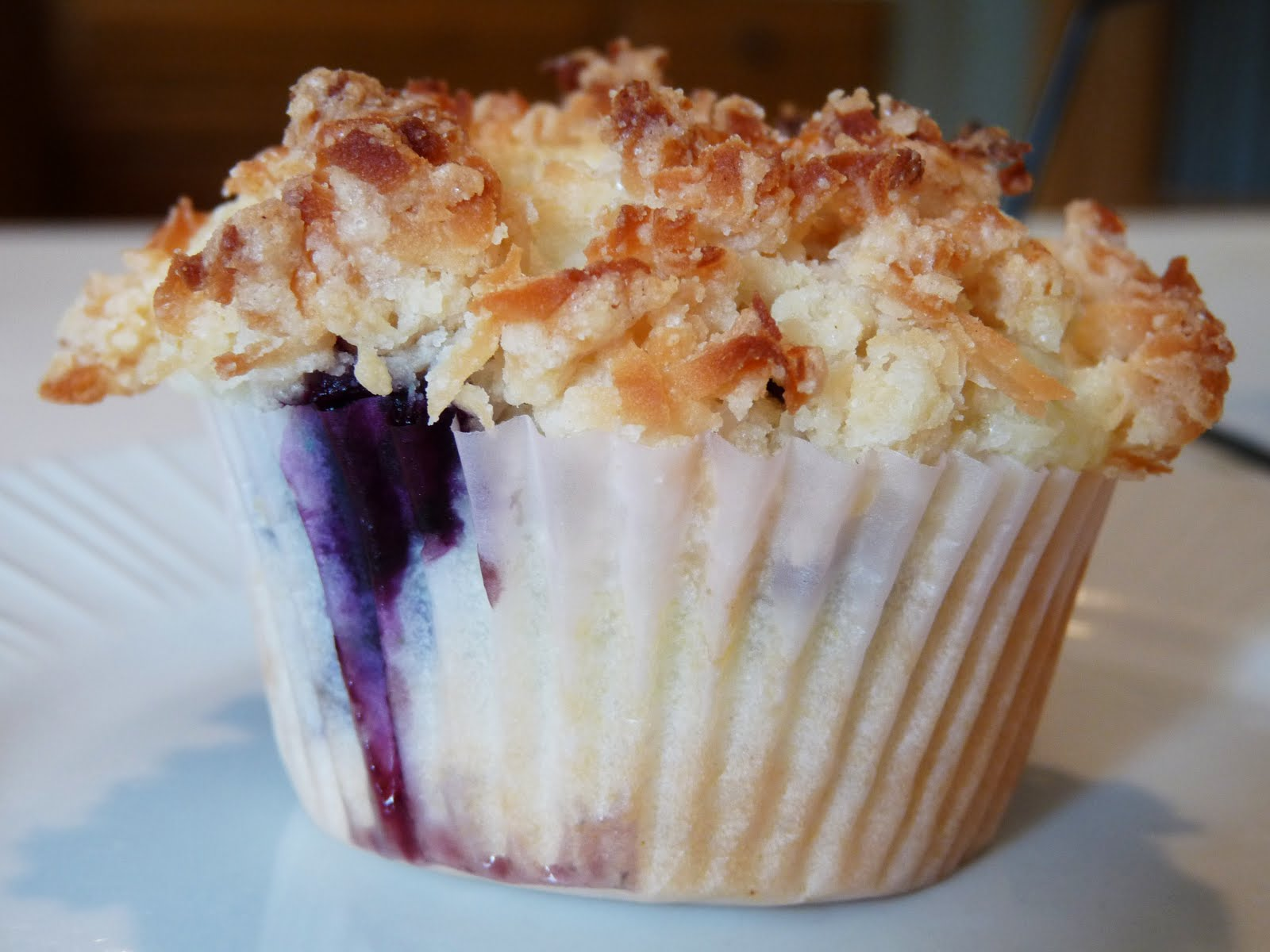 Mango Blueberry Muffins With Coconut Streusel Recipes — Dishmaps