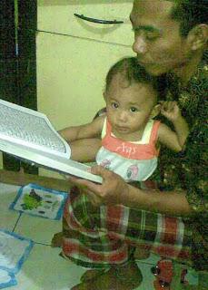 Melatih baca Al Qur'an