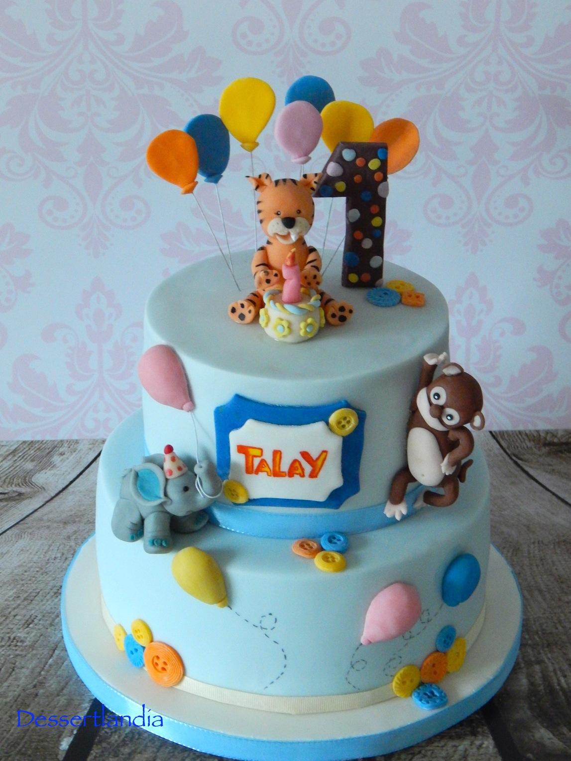 Dessertlandia My First 2 Tier Bday Cake