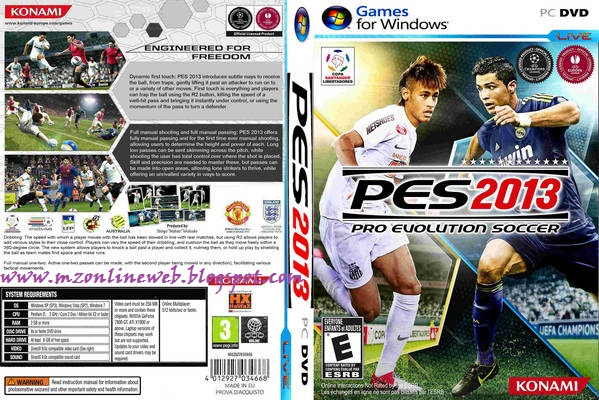 telecharger pro evolution soccer 2013 pc gratuit complet