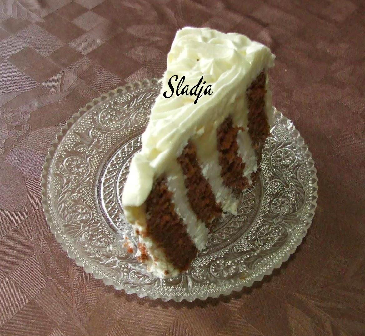 KAPUĆINO TOČAK TORTA
