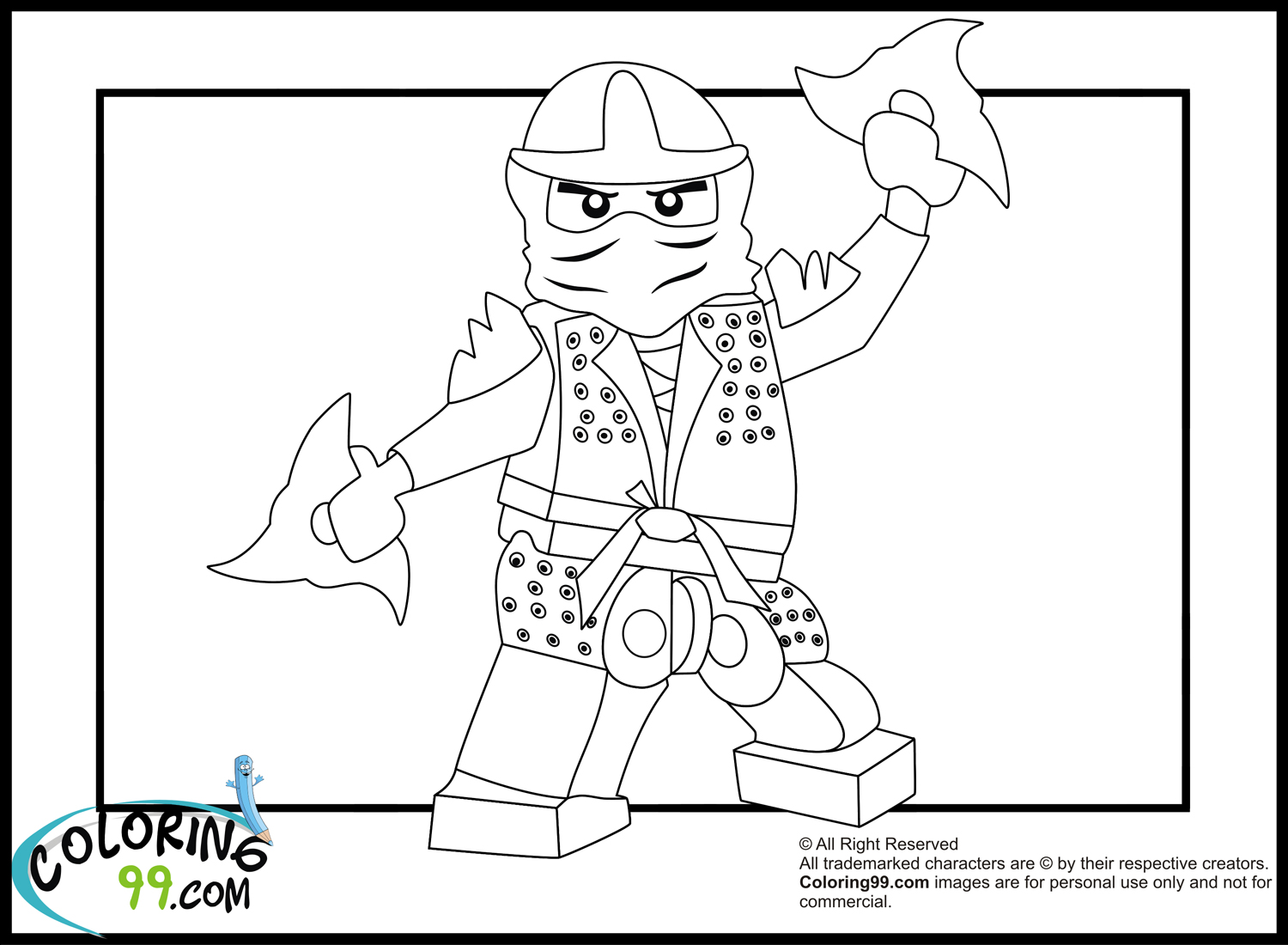 Lego ninjago lloyd the green ninja coloring pages for Ninjago green ninja coloring pages
