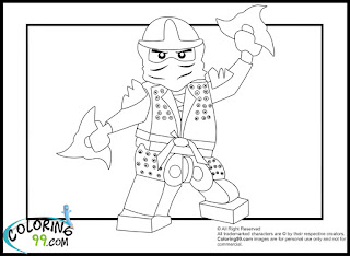 ninjago green ninja coloring pages