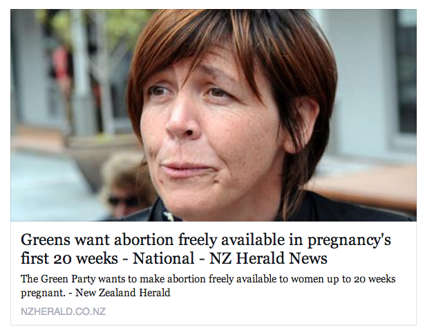 NZ Herald provocative headline and picture