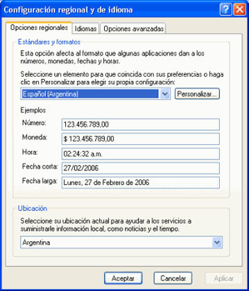 De todo un poco: Configurar teclado en español