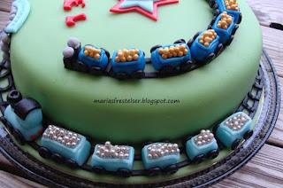 Tåg tårta