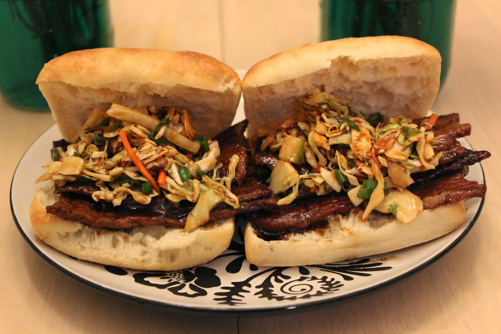 recipe, tasty tuesday, mongolian beef, p f changs, p.f. chang's, mongolian beef sandwich