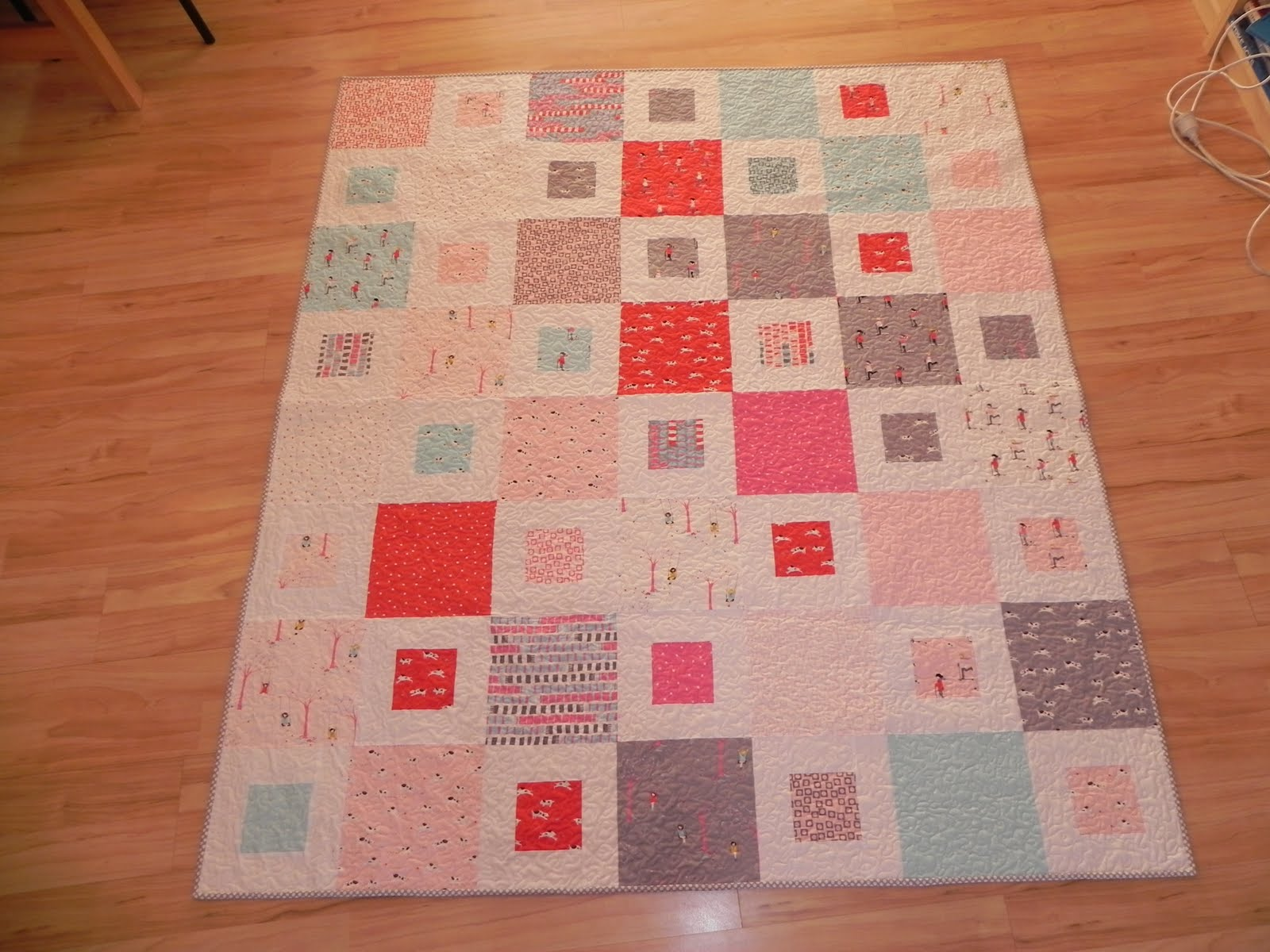 1 2 Easy Quilt Pattern Tutorial Samelias Mum