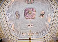 Ornate Wynyard Hall Ceiling