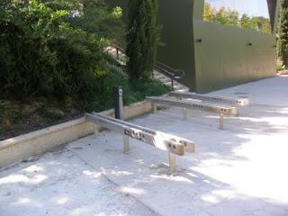 fuente sin agua quiosco El Corazón Verde Canal Imperial de Aragón Zaragoza