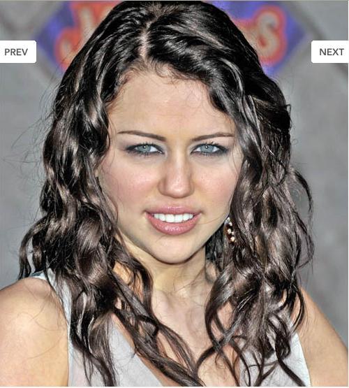 hannah montana miley cyrus hairstyle