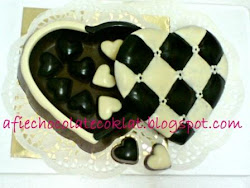 CHOC LOVE BOX (QUILTED) ~ SIZE 'L'
