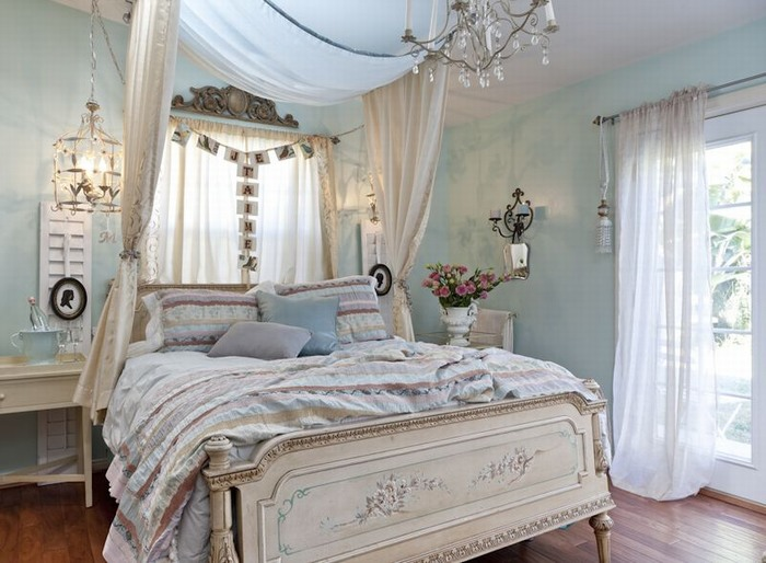 Shabbylishious bedroom inspiration soveroms inspirasjon - Dormitorio estilo romantico ...