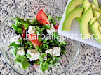 Salata cu avocado preparare reteta