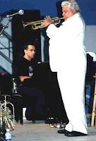 Earl MacDonald accompanying Maynard Ferguson at the Ottawa Jazz Festival